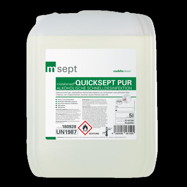 mobilomed® Quicksept pur 5l