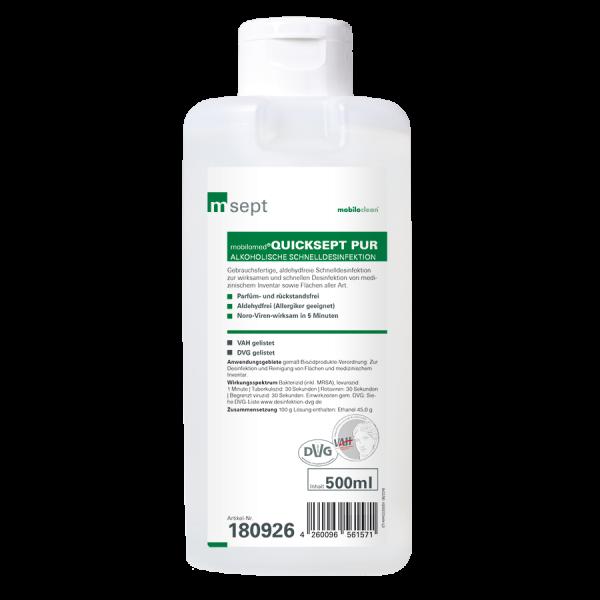mobilomed® Quicksept pur 500ml