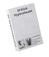 Hygienebeutel PE, 30Stück p. Dispenserbox