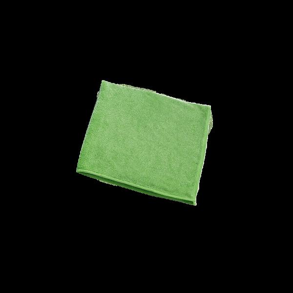 Microfasertuch Stretch, 40 x 40 cm, grün