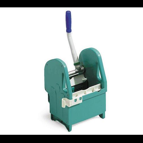 Kunststoffpresse mobiloclean grün/blau